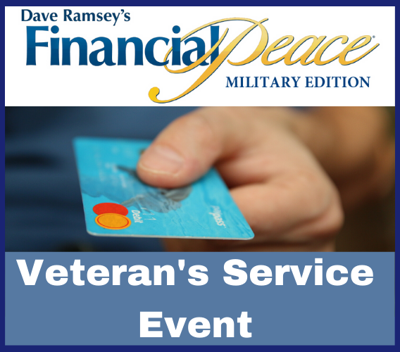 Veterans Service Financial Peace Flyer