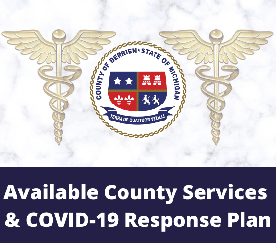 Available County Services and County COVID-19 Response Plan News Image