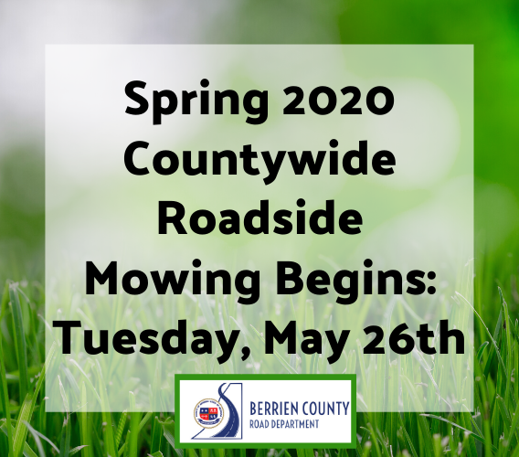 Newsflash 2020 Countywide Mowing Begins