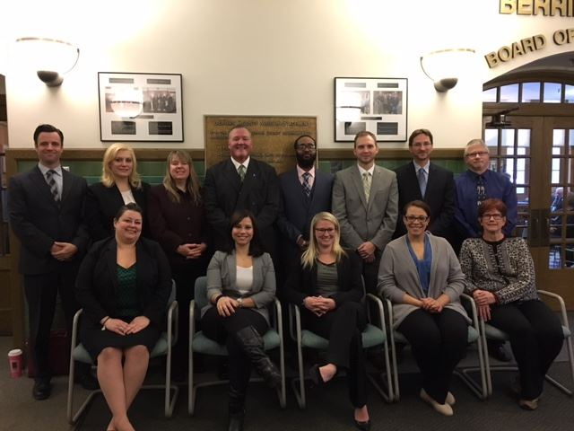 Group Photo of Public Defenders Office Staff