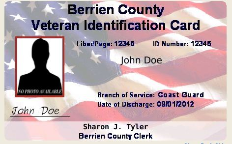 Front of Veteran IDs