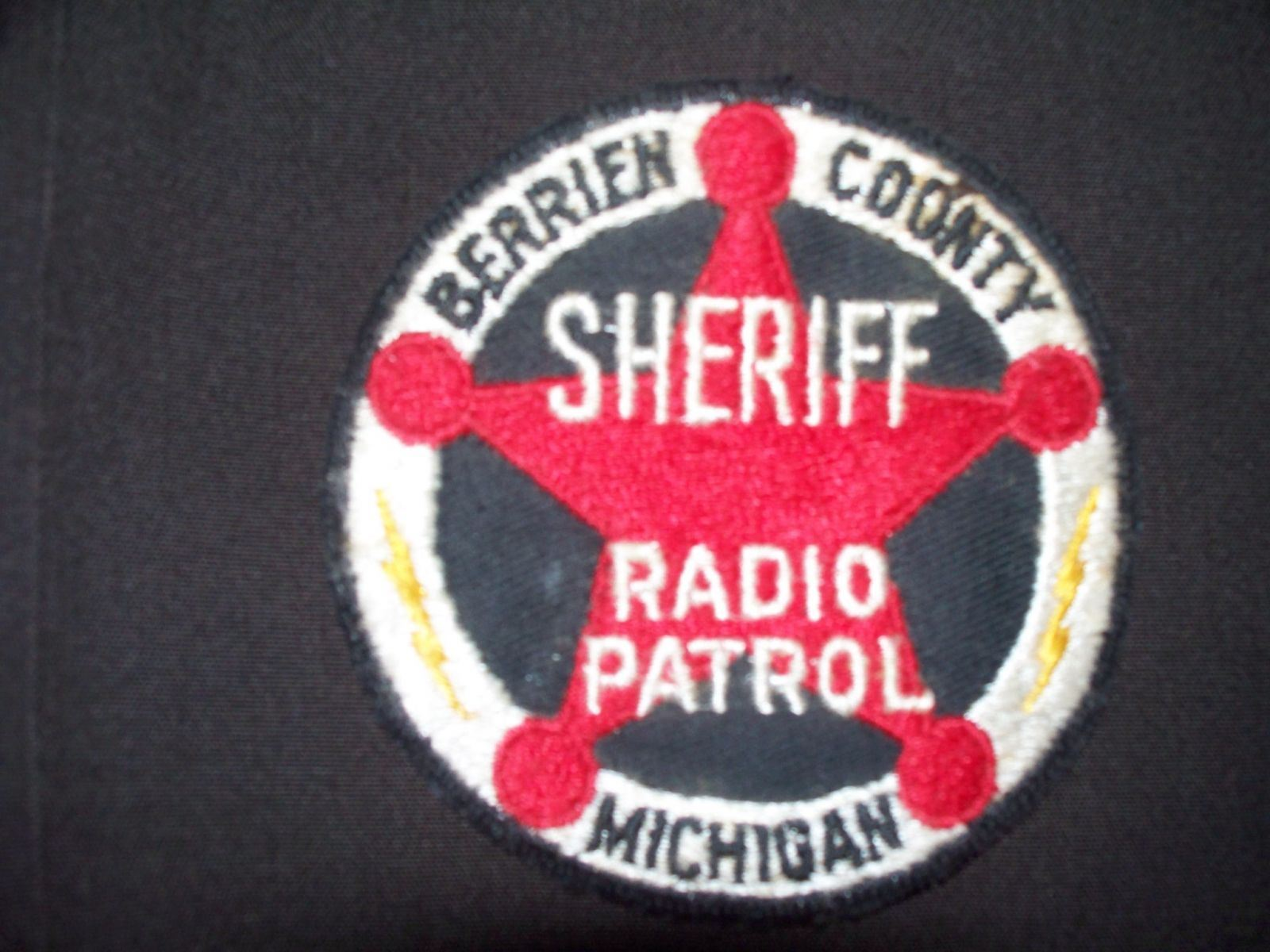 Radio Patrol Sheriff Patch