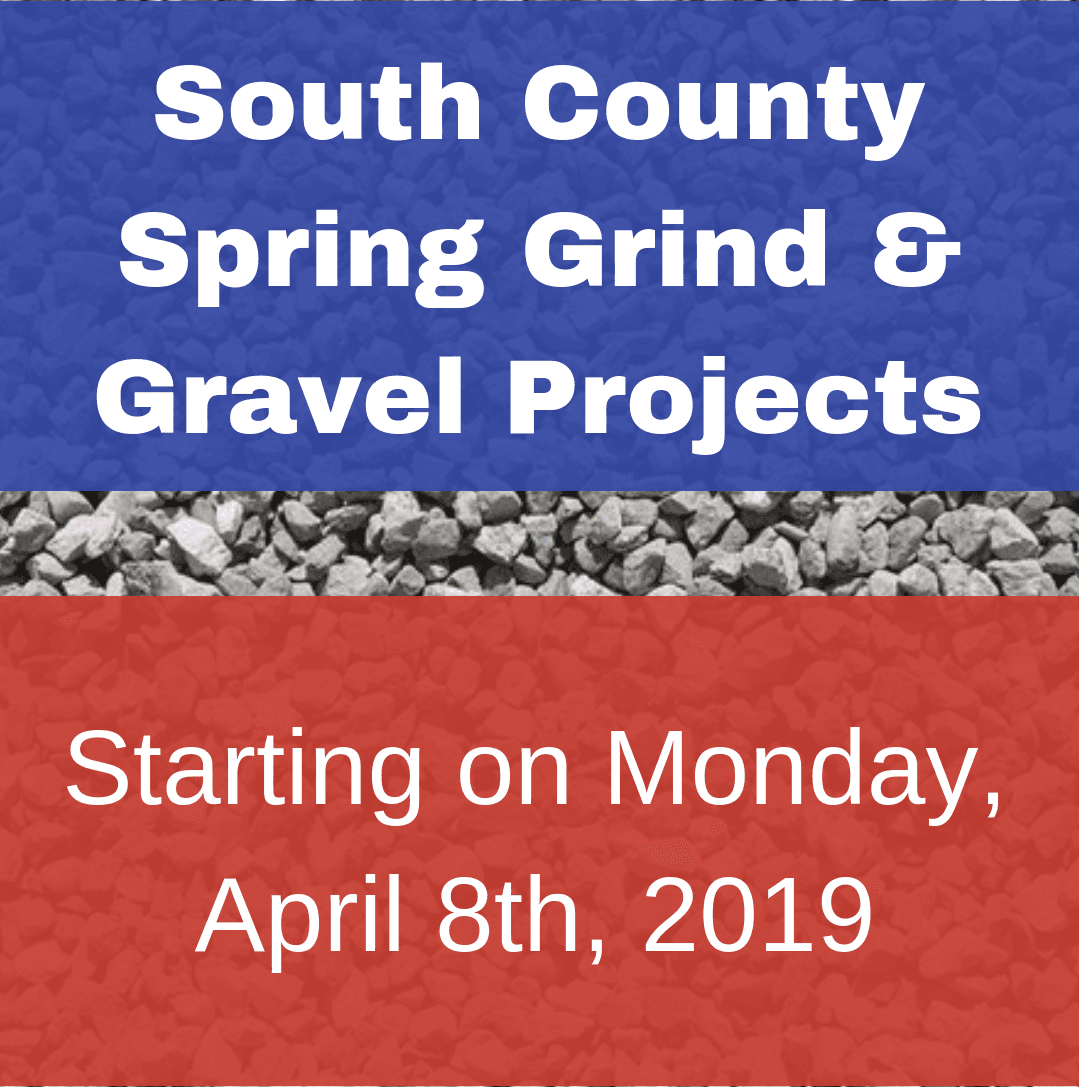South County Spring Grind and Gravel Projects April 8 2019 Cover - Copy